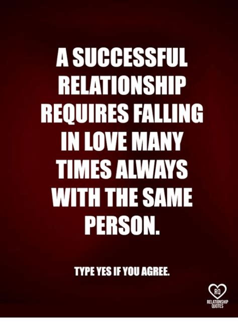 In Love Memes - a successful relationship requires falling in love many