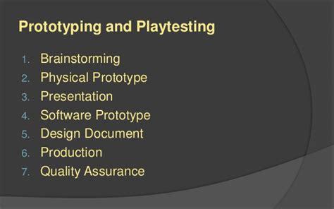game design quality assurance lafs game design 6 conceptualization
