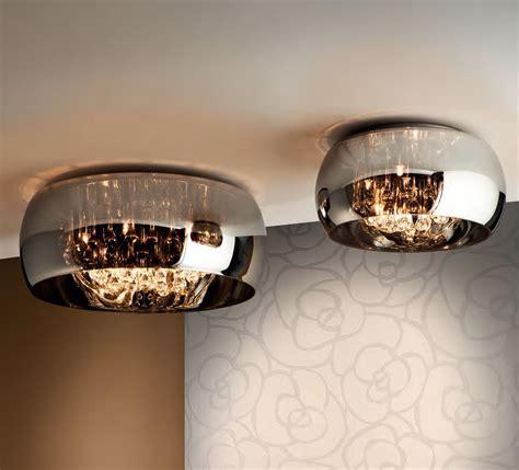 ceiling lights glass glass flush light