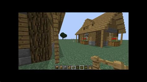 tuto comment faire une maison sur minecraft partie 1