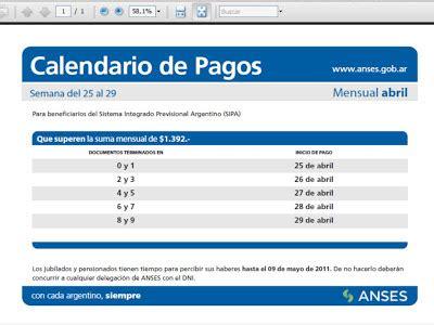 anses pago del bono de 400 pesos por correo argentino a fecha de pago de anses de fondo de desempleo anses