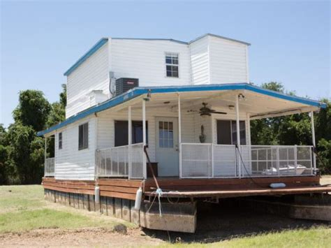 lake land house boat land locked to lake fixer upper takes on 1970 s houseboat