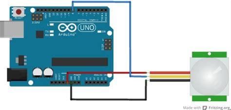 arduino code pir sensor hc sr501 pir sensor exle arduino projects