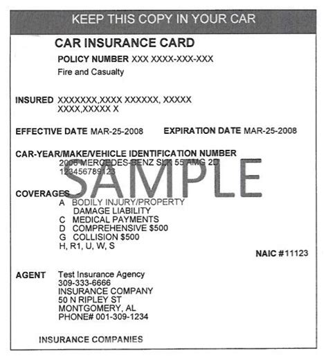 Be Sure To Insure AL ? Sample Documents