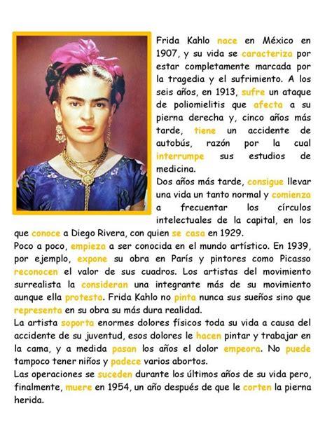 frida kahlo biography powerpoint e spanish for free biograf 237 a de frida kahlo