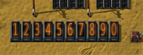 factorio forums view topic mod 0 12 x nixie numeric display elements