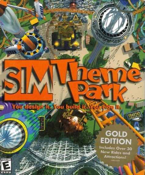 theme park pc sim theme park box shot for pc gamefaqs