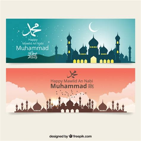 design banner islamic islamic vectors photos and psd files free download