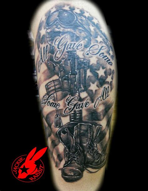 soldier sign tattoo american soldier memorial by jackie rabbit custom
