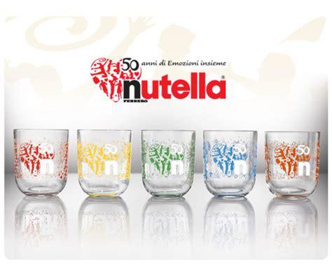 bicchieri della nutella daniela wurdack nutella ha 50 anni