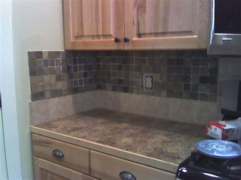 backsplash for kitchen walls 17 best images about where to stop a tiled backsplash on