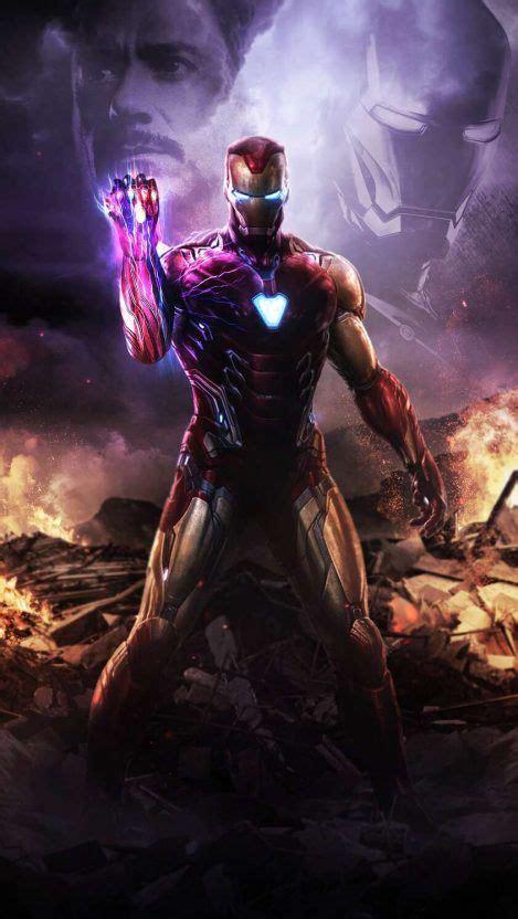 iron man infinity stone snap iphone wallpaper