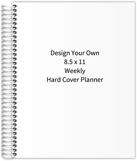 design your own hardcover journal design your own 8 5 x 11 hard cover planner 2017 daily