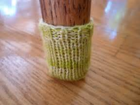 knit nosh chair booties