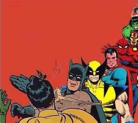 Batman Slapping Robin Meme - batman slaps robin cartoon www pixshark com images