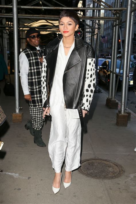 zendaya coleman style 2015 zendaya style out in new york city february 2015