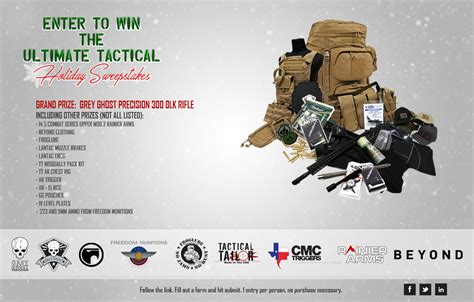 Tactical Giveaway - grey ghost precision ultimate tactical holiday
