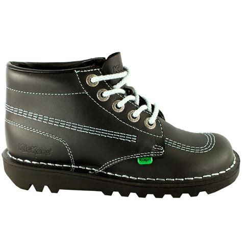 Kickers Shoes 7 mens kickers kick hi leather classic oxfords office work boots shoes us 7 13 ebay