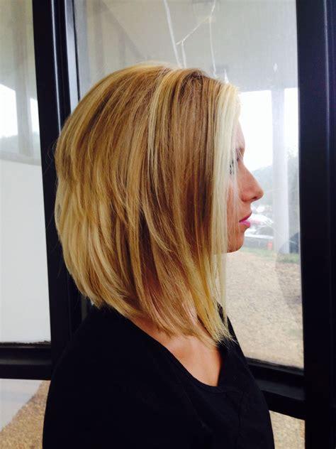 Forward Diagonal | long diagonal forward haircut