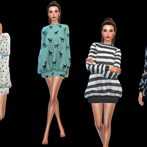 oversized sweater sims 4 cc leo 4 sims oversized sweater sims 4 downloads