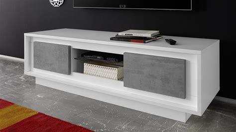tv board beton lowboard sky tv board in wei 223 matt und beton mit softclose