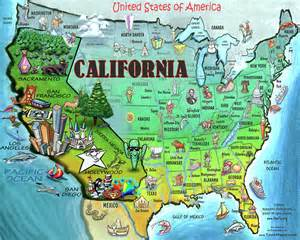 america california map california usa digital by kevin middleton