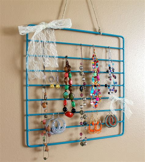 organization racks diy jewelry organization roundup