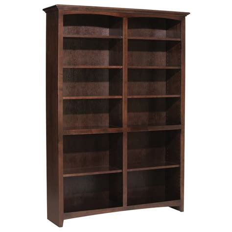 Whittier Wood Mckenzie Bookcase Collection 48 Quot Wide Wide Bookshelves