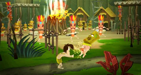 george of the jungle biggest swing george of the jungle swings onto ps2 wii and ds this spring