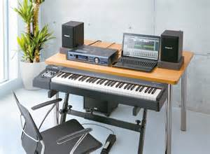 on stage studio desk building your home recording studio singer songwriters