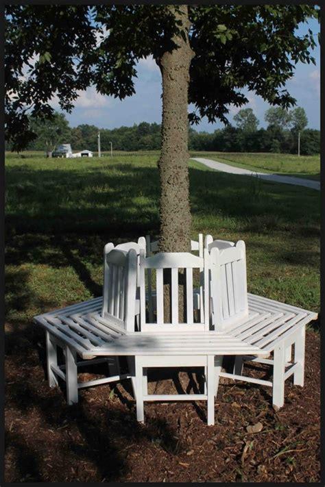creative ideas   build  bench   tree