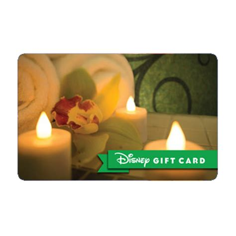 Universal Spa Gift Card - your wdw store disney collectible gift card senses spa