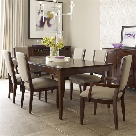 kincaid dining room sets kincaid furniture elise seven piece dining set with