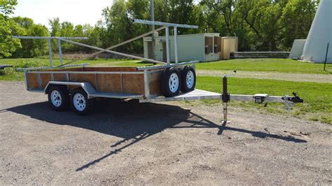 used boat trailers in wisconsin custom made kayak trailer in wisconsin remackel trailers