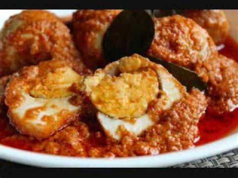 youtube membuat rendang padang inilah cara membuat resep rendang telur ayam lezat