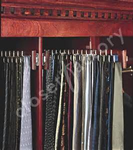 custom designed s tie cabinet traditional closet
