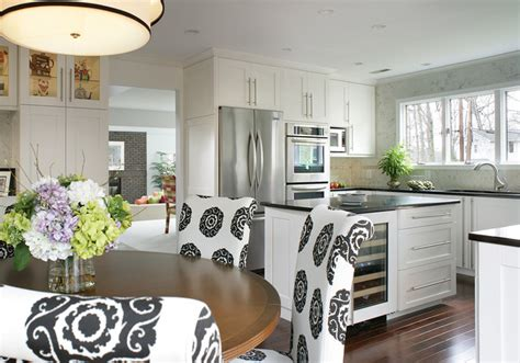 casual kitchen eating area transitional kitchen cherry hill kitchen eating area island transitional