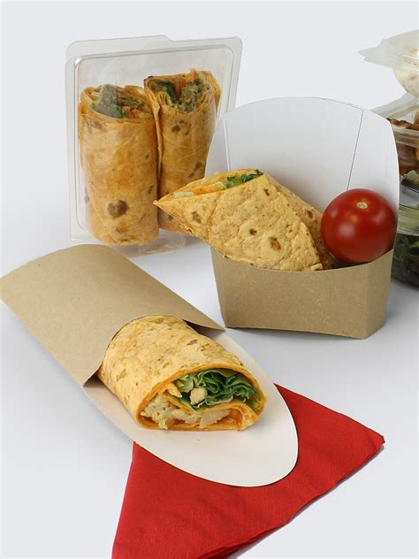 Packing Wrap tortilla wrap hinged plastic container