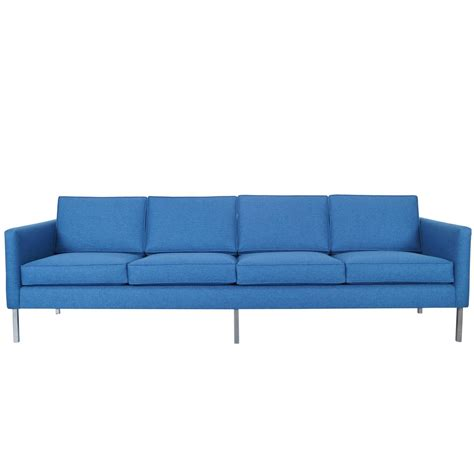 mid century modern chrome sofa at 1stdibs