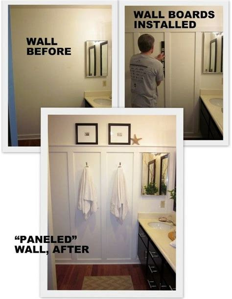 diy bathroom walls diy quot wood paneling quot this is what i want for upstairs