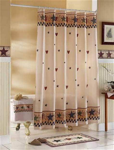country primitive shower curtains collections etc find unique online gifts at