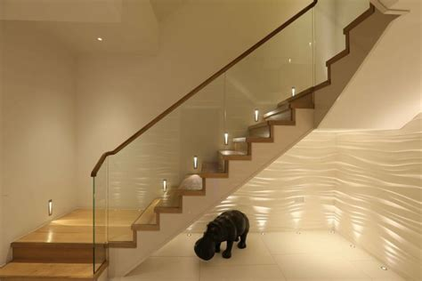 Textured Wall by Staircase Lighting Ideas Tips And Products John Cullen