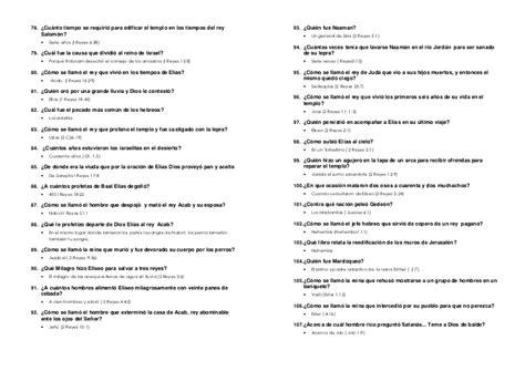 preguntas sin respuestas toby letra bible quiz esgrima b 237 blico