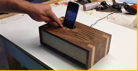 diy docking station video woodworking project crafting your own wooden