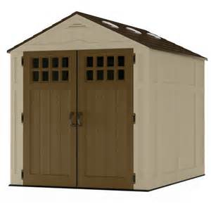 suncast 6 x 8 molded shed taupe walmart
