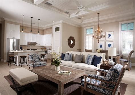 small open floor plan kitchen living room the best decorating interior design for small spaces