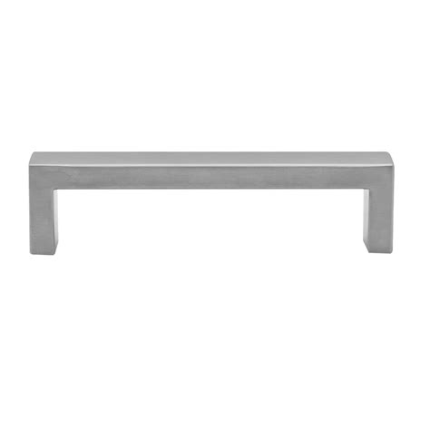 Bunnings Cabinet Handles by Prestige 96mm Stainless Steel Square Pull Handle