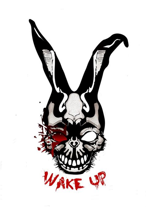 Frank The Bunny Outline by Donnie Darko S Greatest Fan Part 2 Dead Curious