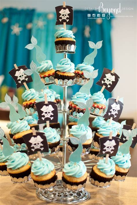 Free Printable Pirate Cupcake Toppers