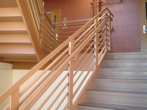 modern stair banisters drawing of modern handrail ideas for more stylish